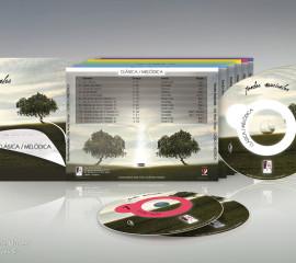 Fondos musicales Pack 6CD
